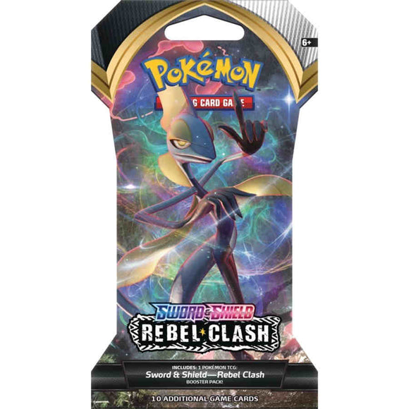 Pokemon Sword & Shield: Rebel Clash Booster Pack SHIPPED SEALED OR PICKUP ONLY