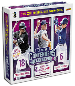 DISCOUNTED TODAY ONLY 2020 Panini Contenders Baseball Hobby Box