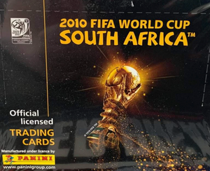 2010 Panini World Cup Soccer Box (36 packs)