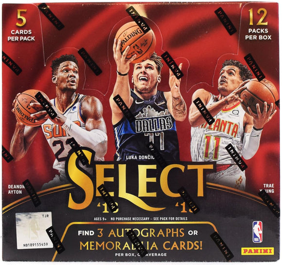 2018/19 Panini Select Basketball Hobby Personal Box