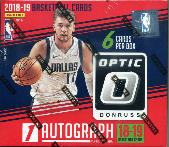2018/19 Panini Donruss Optic Choice Basketball Box Personal