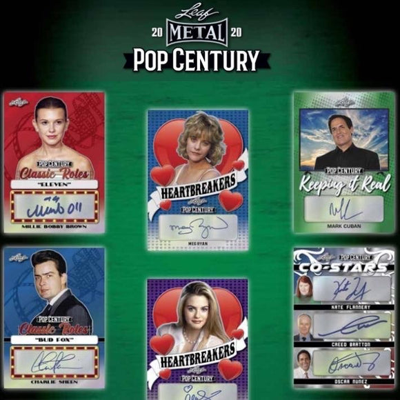 2020 Leaf Pop Century Hobby Box