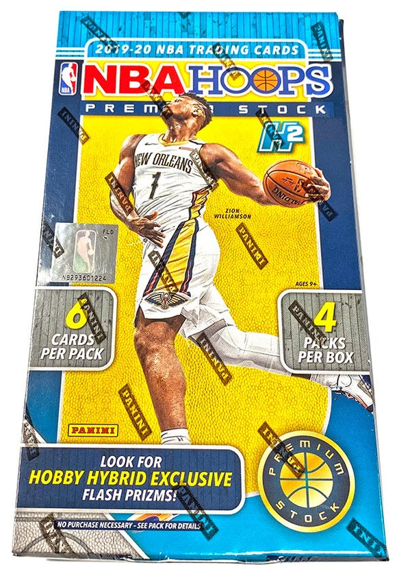2019-20 Panini Hoops Premium Stock Hobby Box