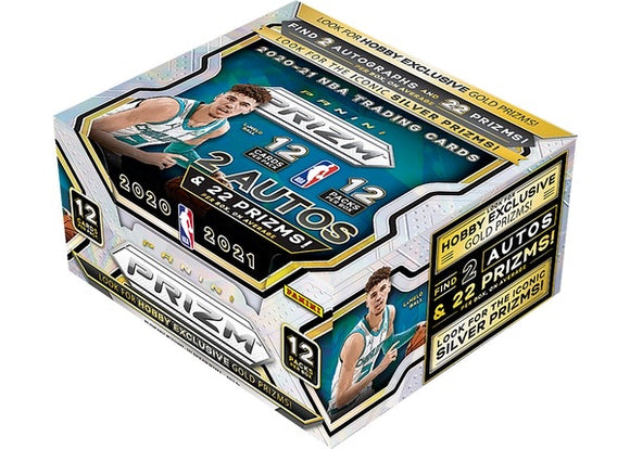 2020-21 Panini Prizm Basketball Hobby Box