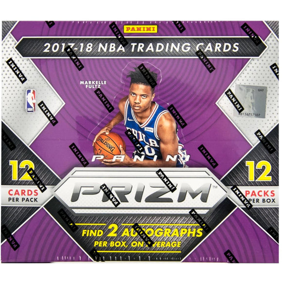 2017-18 Panini Prizm Basketball Hobby Box