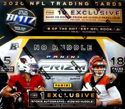 2020 Panini Prizm No Huddle Football Box