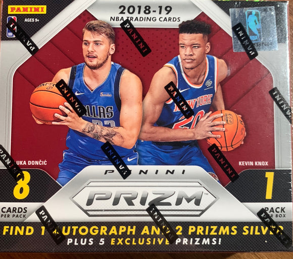 2018-19 Panini Prizm Choice Basketball Box Break