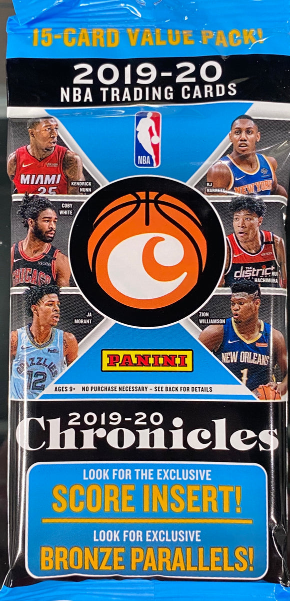 2019-20 Panini Chronicles Basketball Fat Pack