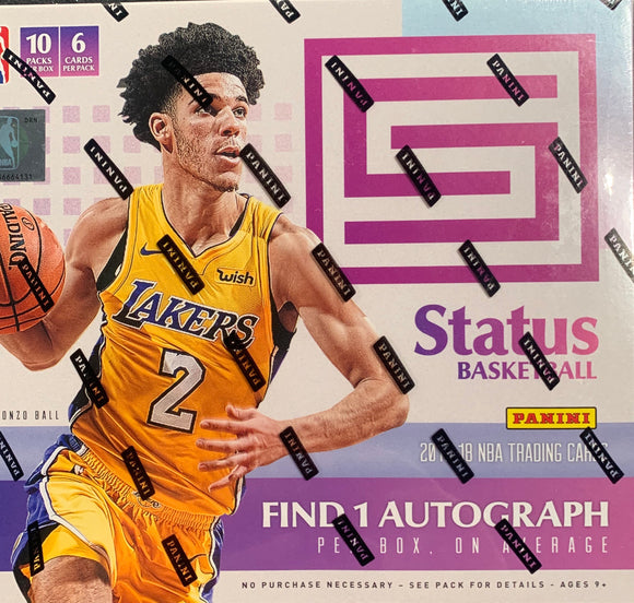 2017-18 Panini Status Basketball Hobby Box