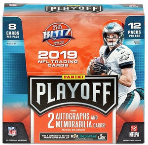 2019 Panini Playoff Football Hobby Box