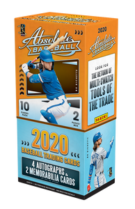2020 Panini Absolute Baseball Hobby Personal Box