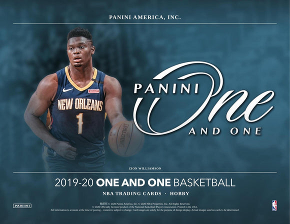 2019-20 Panini One and One Basketball Hobby Box