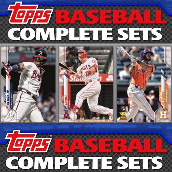 2020 Topps Complete Baseball Factory Set *HOBBY* (Shipped Sealed)