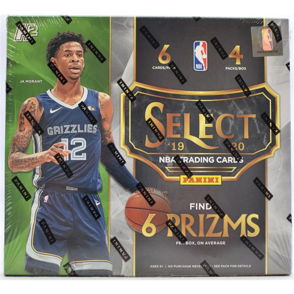 2019-20 Panini Select Hobby Hybrid Basketball Personal Box Break