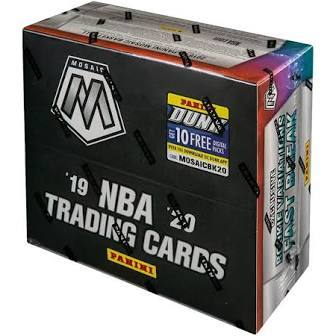 2019-20 Panini Mosaic Basketball FAST BREAK Personal Box