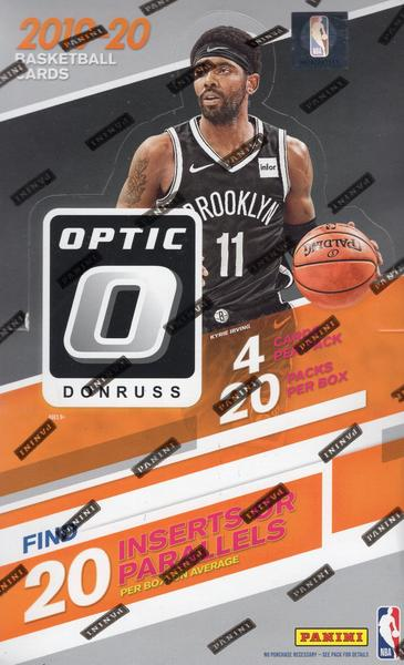 2019/20 Panini Donruss Optic Basketball Retail Personal Box Break