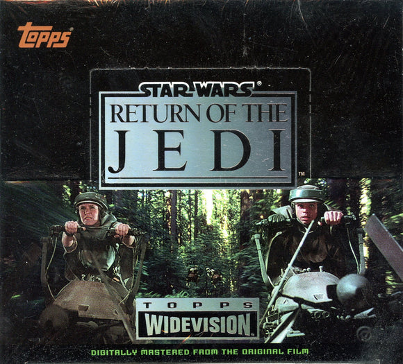 1995 Star Wars Return of the Jedi Factory Sealed Hobby Box