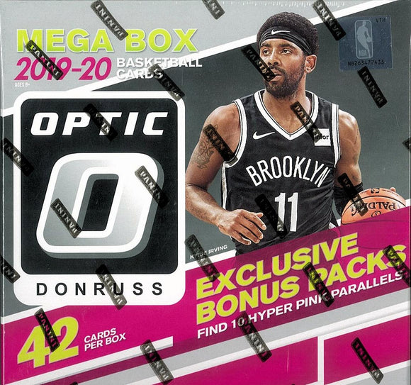 2019-20 Panini Donruss Optic Basketball 42 Card Mega Box
