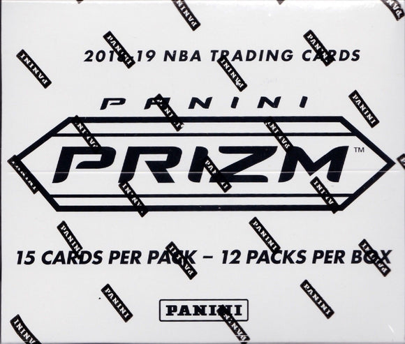 2018-19 Panini Prizm Basketball Multi-Pack Box (12 Ct.) Personal Box Break