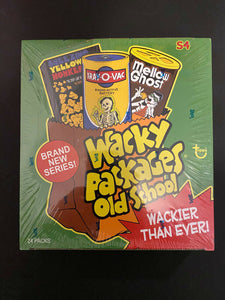 2012 Topps Wacky Packages Old School Series 4 Factory Sealed Box