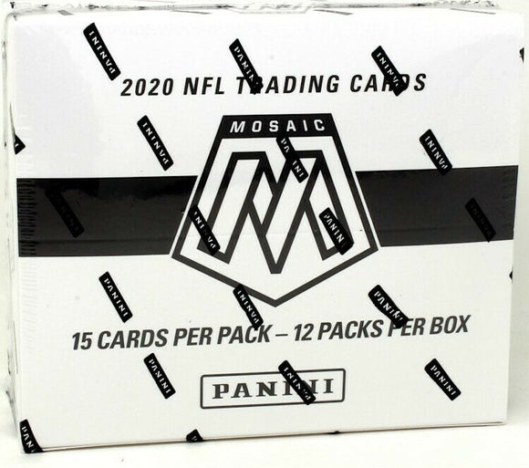 2020 Panini Mosaic Football Multi-Pack Cello Box