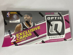 2019/20 Panini Donruss Optic Basketball Tmall Edition Lucky Envelopes Personal Box