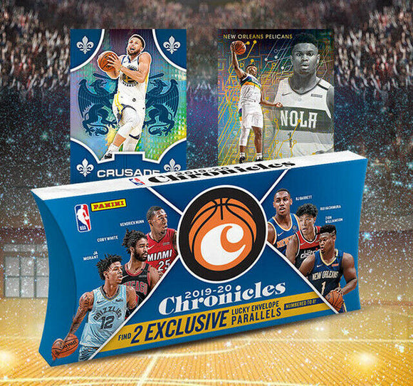 2019/20 Panini Chronicles Basketball Tmall Edition Lucky Envelopes Box
