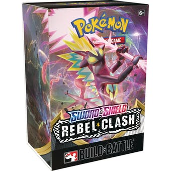 Pokemon Sword & Shield: Rebel Clash Build and Battle Kit SHIPPED SEALED OR PICKUP ONLY