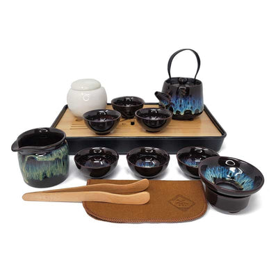 Complete Ceremonial Gongfu Travel Tea Set - Western Supernova