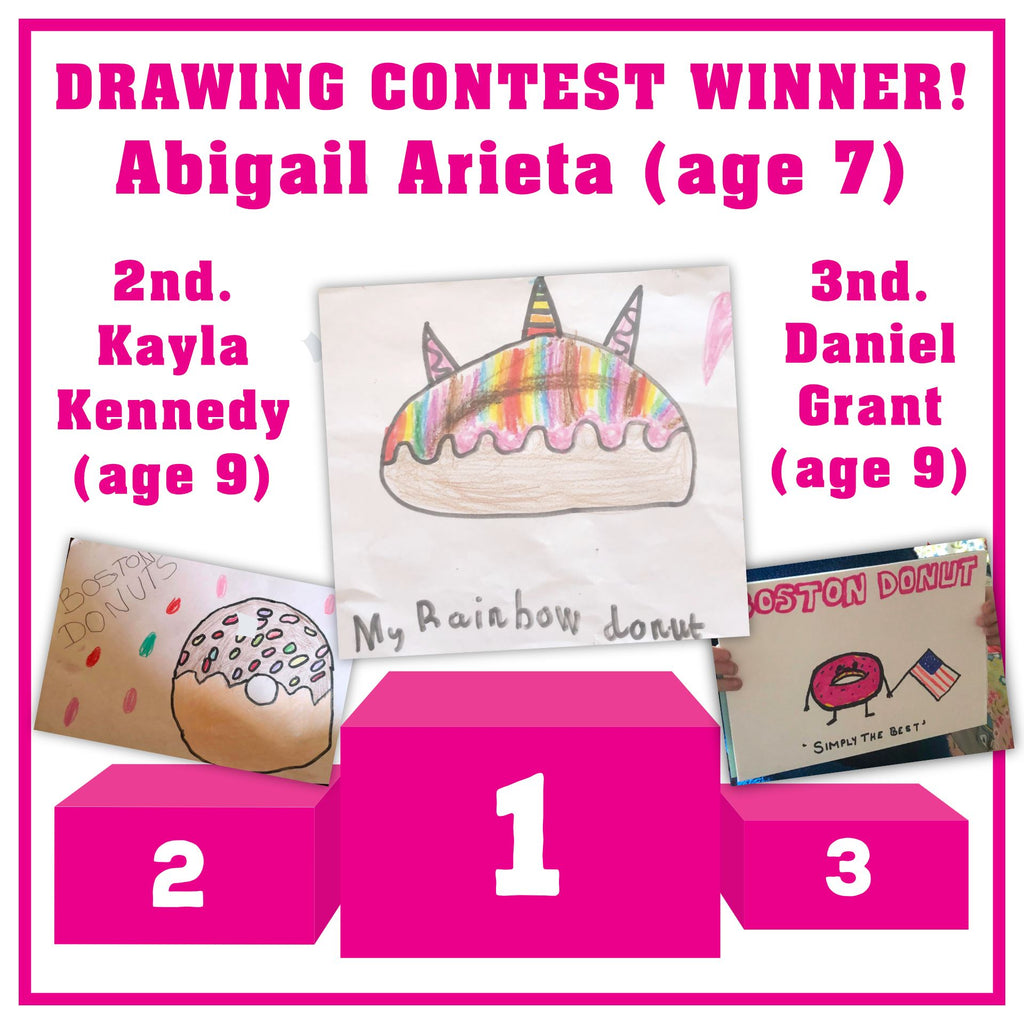 DRAWING CONTEST WINNERS