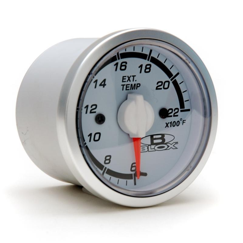 Blox Racing 52mm Exhaust Gas Temperature Gauge