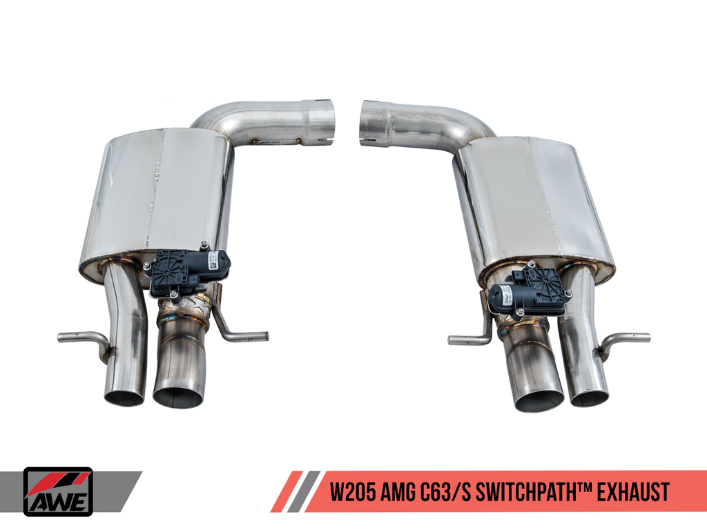 AWE Track to SwitchPath™ Conversion Kit for Mercedes-Benz W205 AMG C63/S Sedan - Non-Dynamic