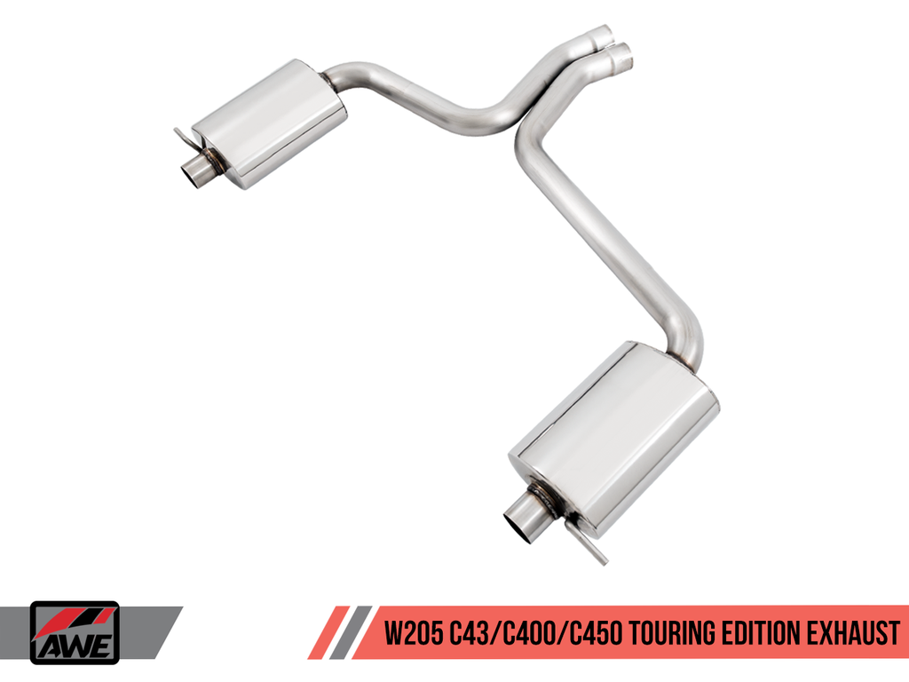 AWE Touring Edition Exhaust for Mercedes-Benz W205 AMG C43 / C450 / C400