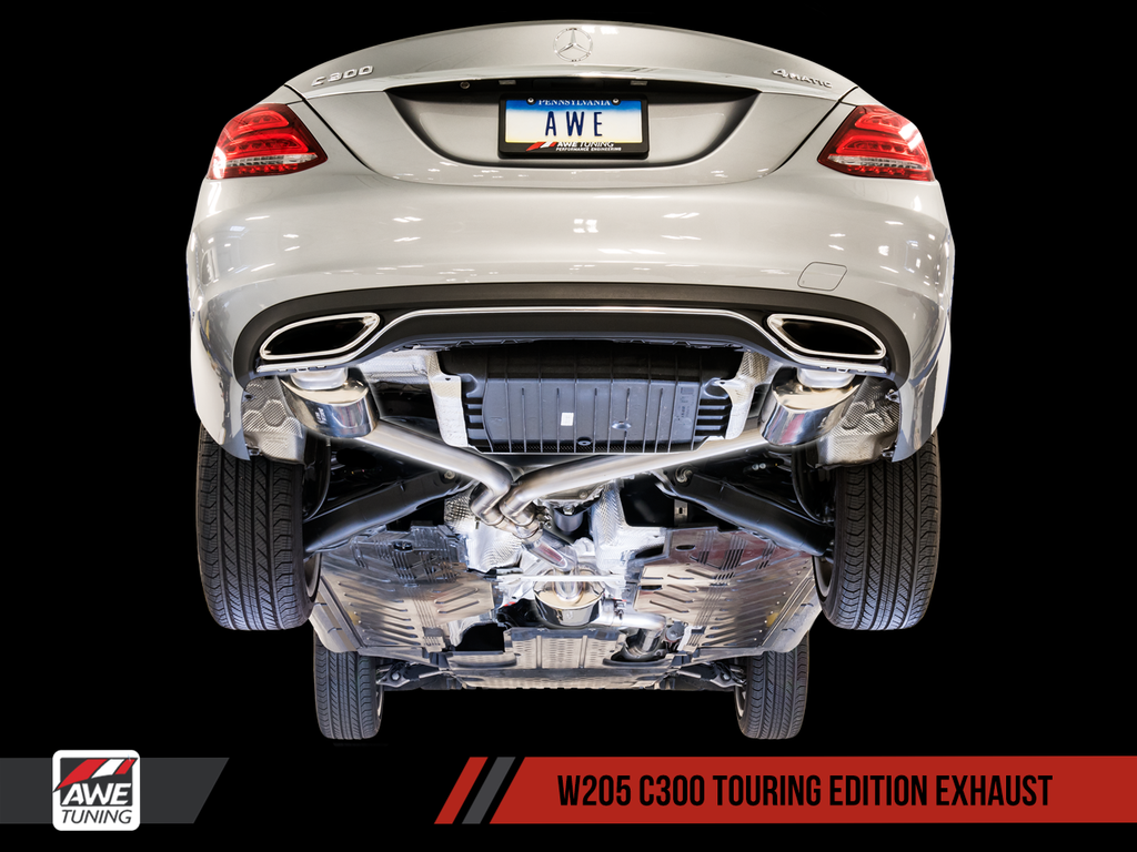 AWE EXHAUST SUITE FOR MERCEDES-BENZ W205 C300 / C200)