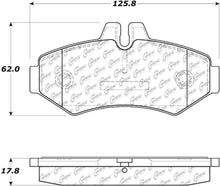 Load image into Gallery viewer, PosiQuiet Mercedes Benz 02-08 G500/09-13 G550/03-04 G55 AMG Rear Extended Wear Brake Pads