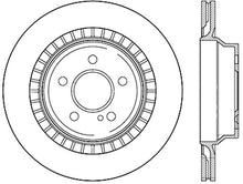 Load image into Gallery viewer, Centric C-Tek 10-14 Mercedes Benz E Class E550 Sedan Standard Rear Brake Rotor