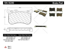Load image into Gallery viewer, PosiQuiet 10-15 Mercedes-Benz CL550 S550 SLK55 AMG Front Brake Pads