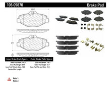 Load image into Gallery viewer, PosiQuiet Mercedes Benz Front Ceramic Brake Pads w/ Shims FMSI 7899-D987