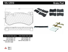 Load image into Gallery viewer, PosiQuiet 07-09 Mercedes-Benz E63 AMG 6.3L Ceramic Front Brake Pads