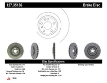 Load image into Gallery viewer, Centric Mercedes SL600/CLS55/CLS63/E55/E63/SL55/SL63/SL65 Front Drilled OE Design Brake Rotors