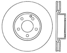 Load image into Gallery viewer, StopTech 13-17 Mercedes E400 Drilled Left Front Rotor