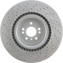 Load image into Gallery viewer, Centric C-Tek 12-15 ML63 AMG High Carbon OE Design Slotted / Drilled 1PC Brake Rotor (127.35130)