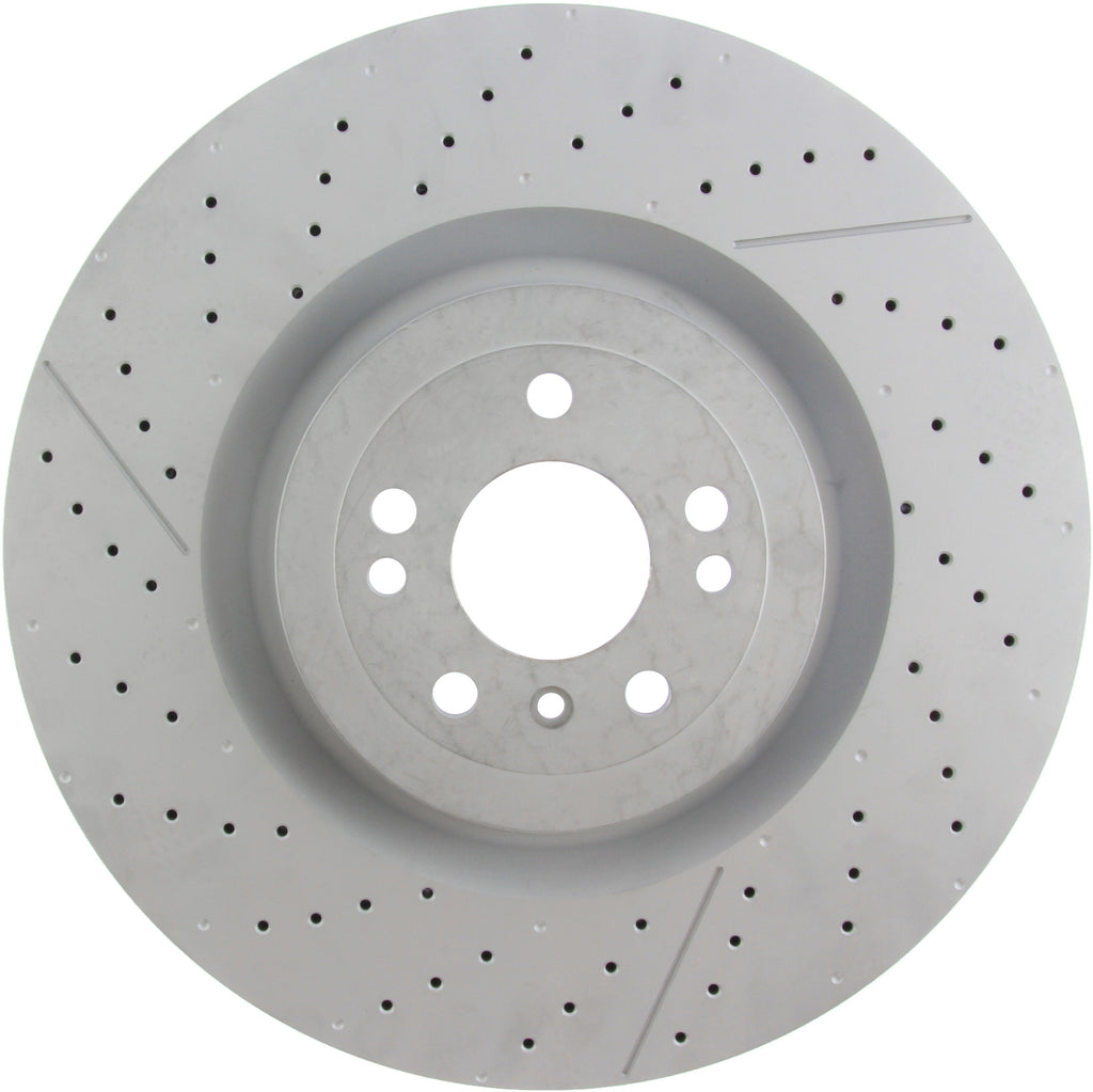 Centric C-Tek 12-15 ML63 AMG High Carbon OE Design Slotted / Drilled 1PC Brake Rotor (127.35130)