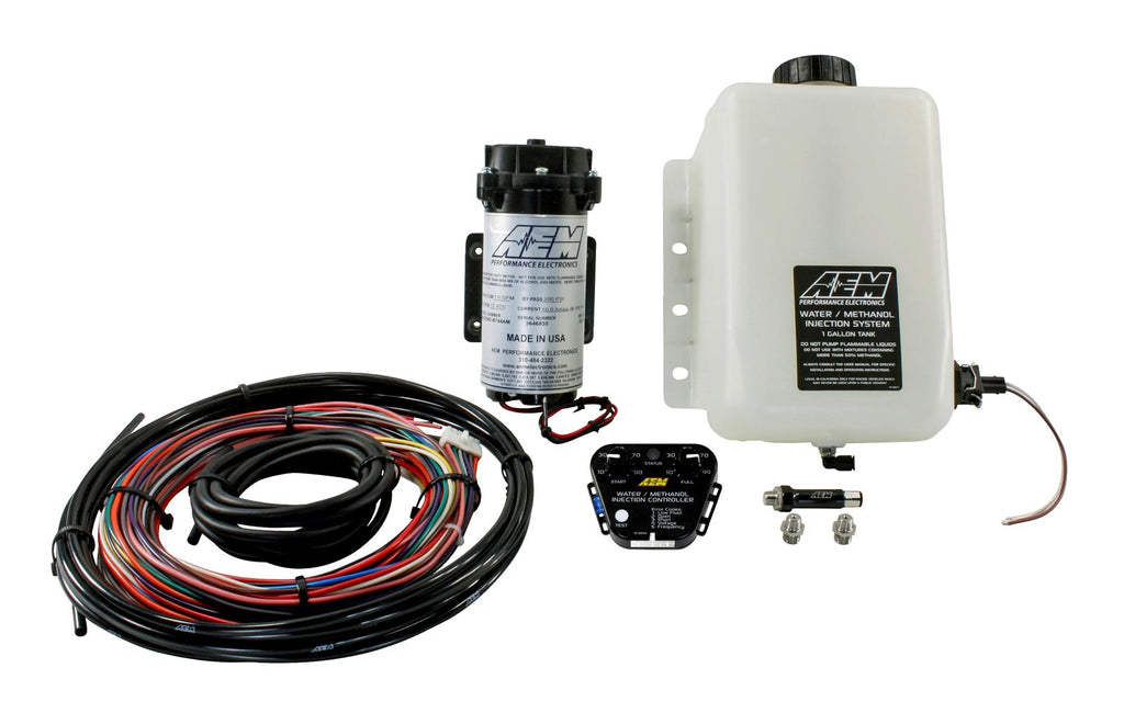 AEM V2 One Gallon Water/Methanol Injection Kit-Multi Input (30-3350)