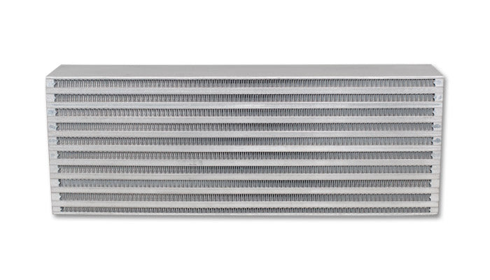 Vibrant Air-to-Air Intercooler Core Only (core size: 18in W x 6.5in H x 3.25in thick)