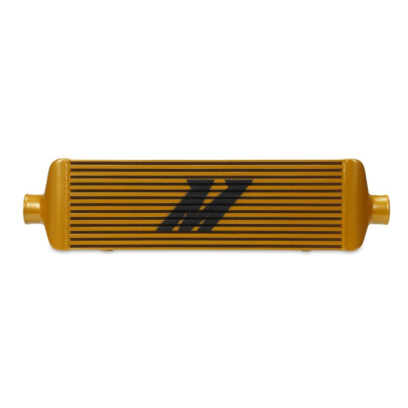 MISHIMOTO UNIVERSAL RACE EDITION INTERCOOLER J-LINE (Gold)