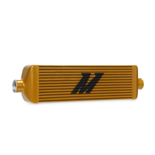 Load image into Gallery viewer, MISHIMOTO UNIVERSAL RACE EDITION INTERCOOLER J-LINE (Gold)