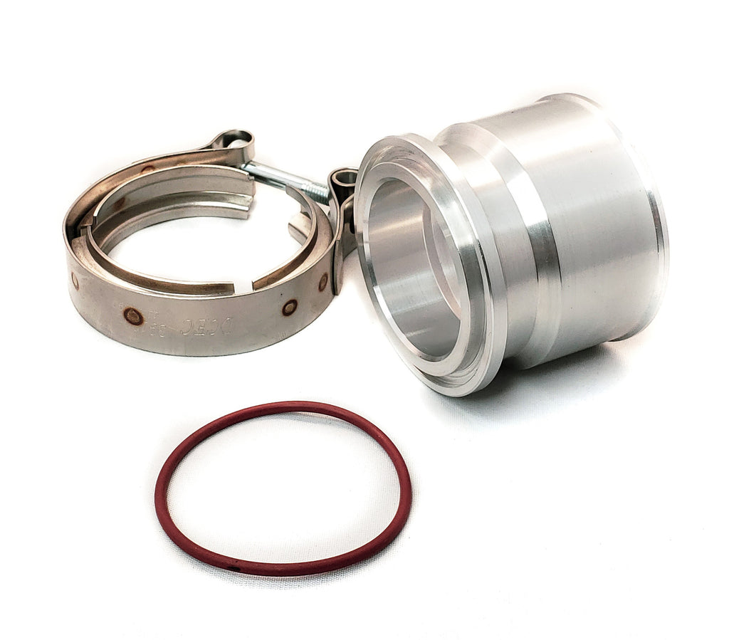 HE221 (56mm) compressor v-band to coupler adapter