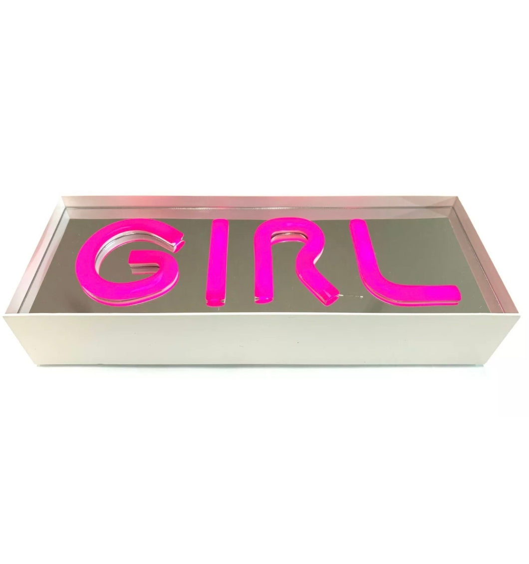 "Pop Art Inspired Neon ""Girl"" Light"