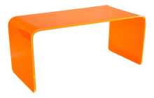 "Load image into Gallery viewer, The ""Long Game"" Coffee Table in Neon Orange"